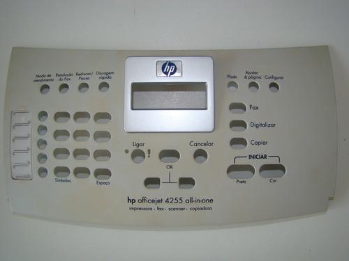 tampa painel de comando impressora hp 4255
