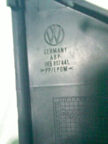 tampa para-choque golf 94 98 alemão engate traseiro original