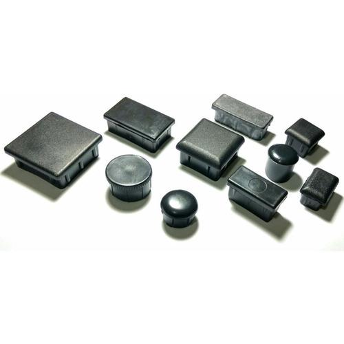 tampa plástica para metalon diversos - kit 800 peças