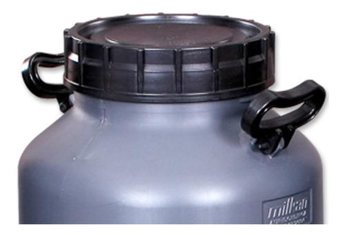tampa plástica p/latão leite unipac 20l - unidade