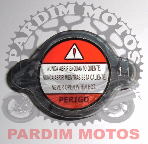tampa radiador hornet cbr cb 500 nc 700 750 shadow 1,1 bar