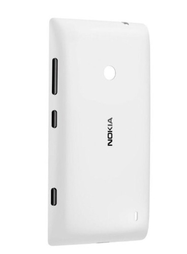 tampa traseira acrílico verso nokia lumia 520 com logo