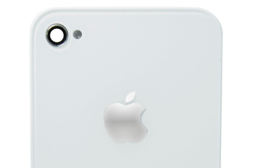 tampa traseira apple iphone 4gs 4s branco