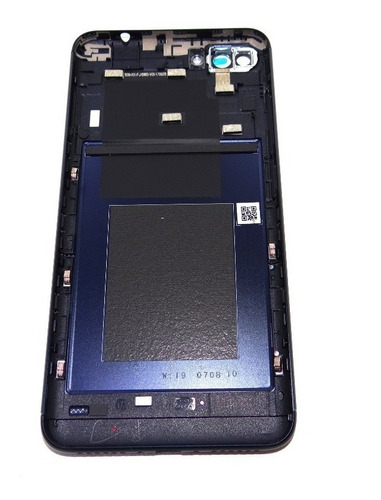 tampa traseira asus zenfone 4 max zc554kl azul s/lente orig.