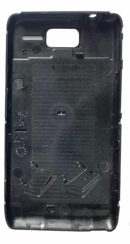 tampa traseira bateria motorola razr d1 xt916 918 original