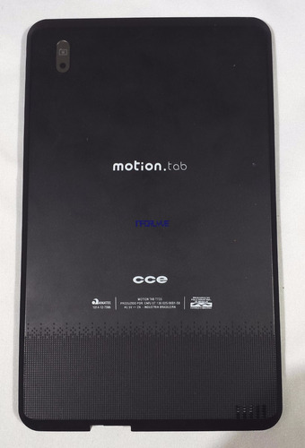 tampa traseira cce motion tab t733