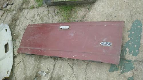 tampa traseira ford ranger 1998 a 2004