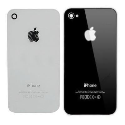 tampa traseira iphone 4s vidro apple   - promoção