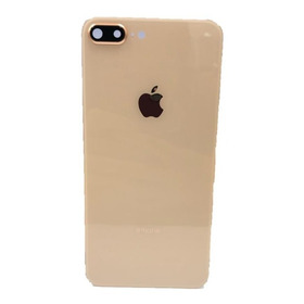 Tampa Traseira iPhone 8 Plus Dourado Com Lente Da Câmera