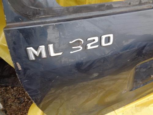 tampa traseira  mercedes ml 320