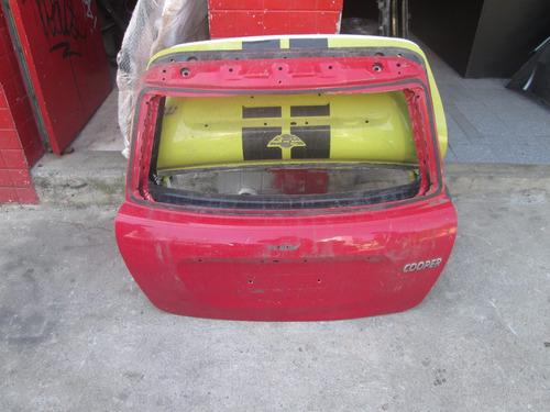 tampa traseira minicooper 2008/2010 - tag cursino
