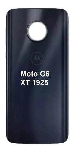 tampa traseira moto g6 xt1925 nova original vidro promoção