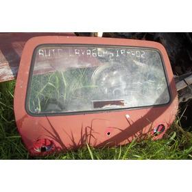 Tampa Traseira Original Caravan 75 À 79(com Vidro)