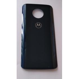 Tampa Vidro Traseiro Motorola Moto G6 Original Indigo