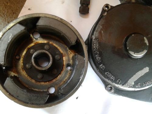 tampas laterais motor  yamaha dt 180