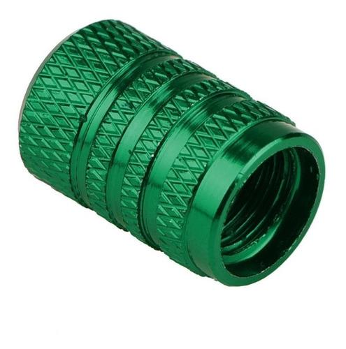 tampas para bico de válvula pneu carro moto bike (kit 4 pçs)