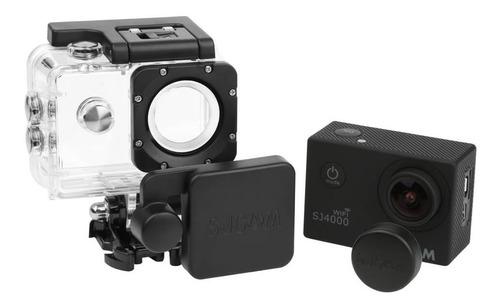 tampas protetoras lente lens caps sjcam sj4000 original