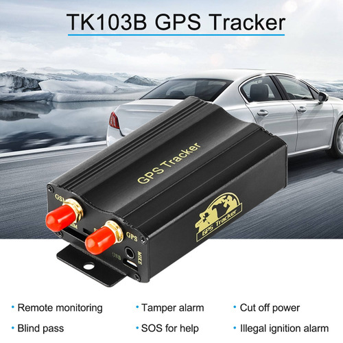 tamper gps sms gprs rastreador monitoramento remototk103b