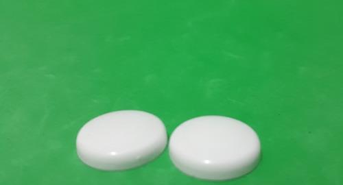tampinha cpl p/parafuso tp13 pacotes c/600 unidades branca