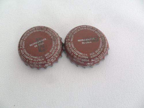 tampinha de refrigerante antiga desenho interno 2 unidades