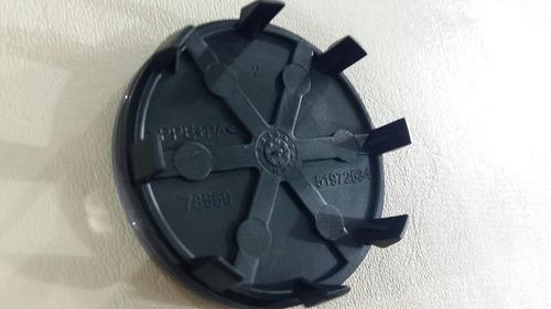 tampinha do centro roda liga leve fiat peça genuína kit