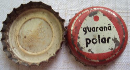 tampinha - guaraná polar - antiga - vedante plástico- i2