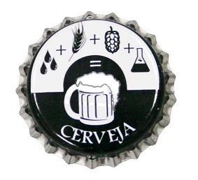 tampinha/ tampa coroa pry off 1000 unid. cerveja artesanal