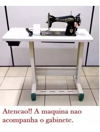 tampo estante bancada para maquina de costura domestica