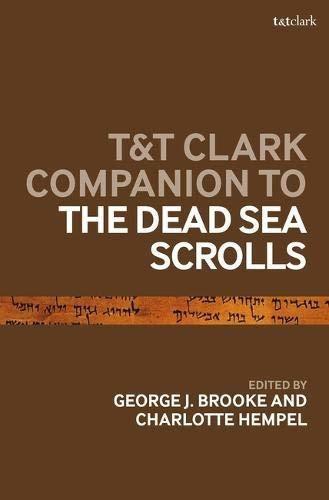 t&t clark companion to the dead sea scrolls : george j.