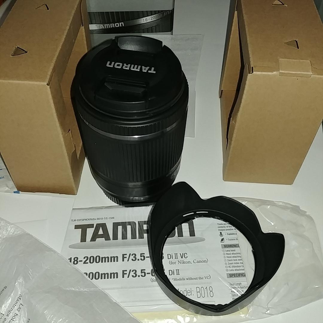 Tamron 18 200mm F 35 63 Di Ii Vc P Canon 1000000 En Mercado For Nikon Cargando Zoom