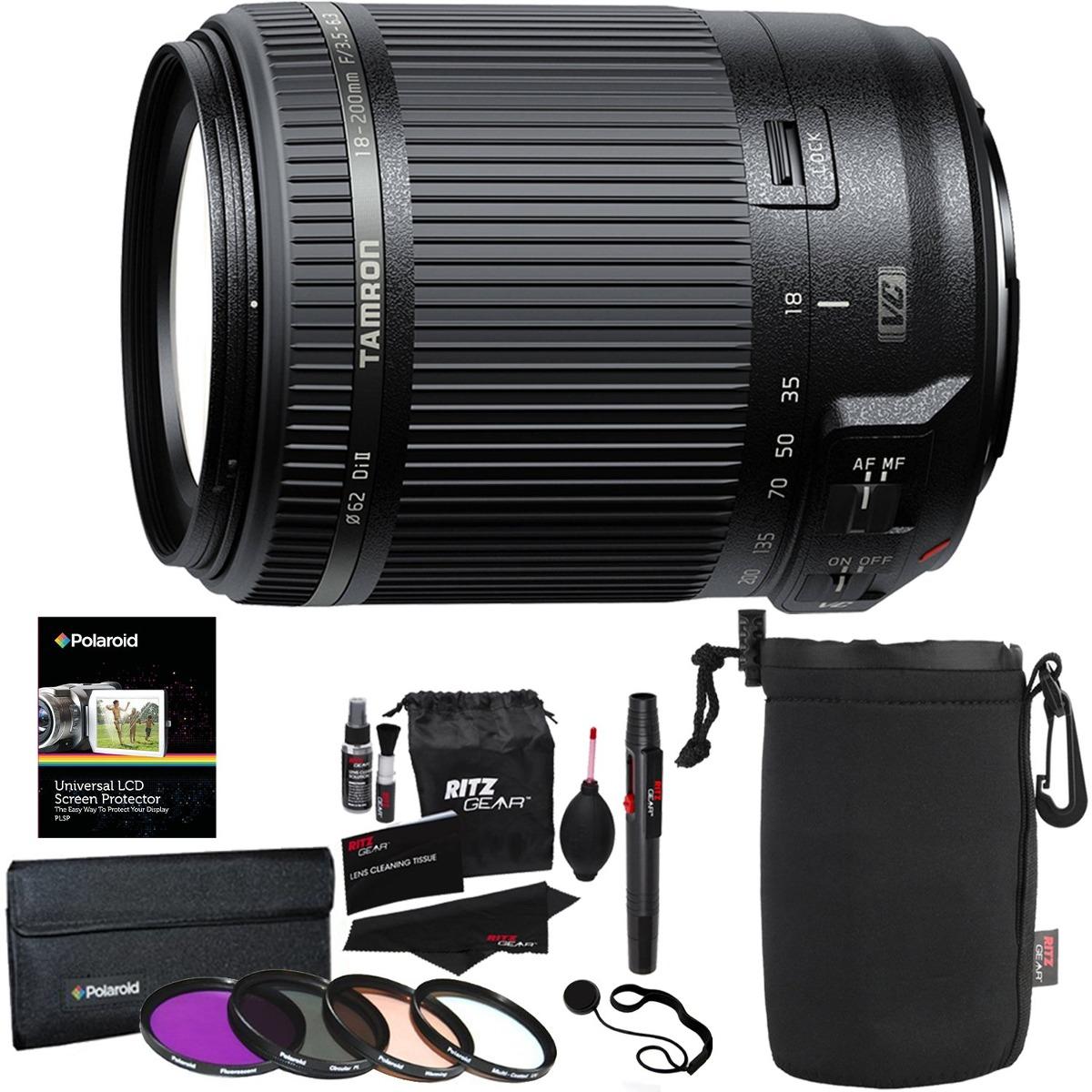 Tamron Af 18 200 Mm F 3 5 6 Di Ii Vc Todo En Uno Zoom Par 200mm 35 63 For Canon Nikon