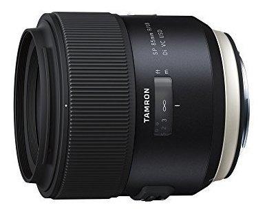 tamron aff016c700 sp 85mm f18 di vc usd lente negro