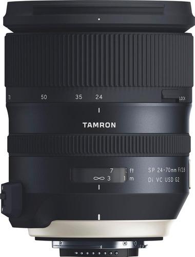 tamron sp 24-70mm f/2 .8 di vc usd g2 zoom lente para cá