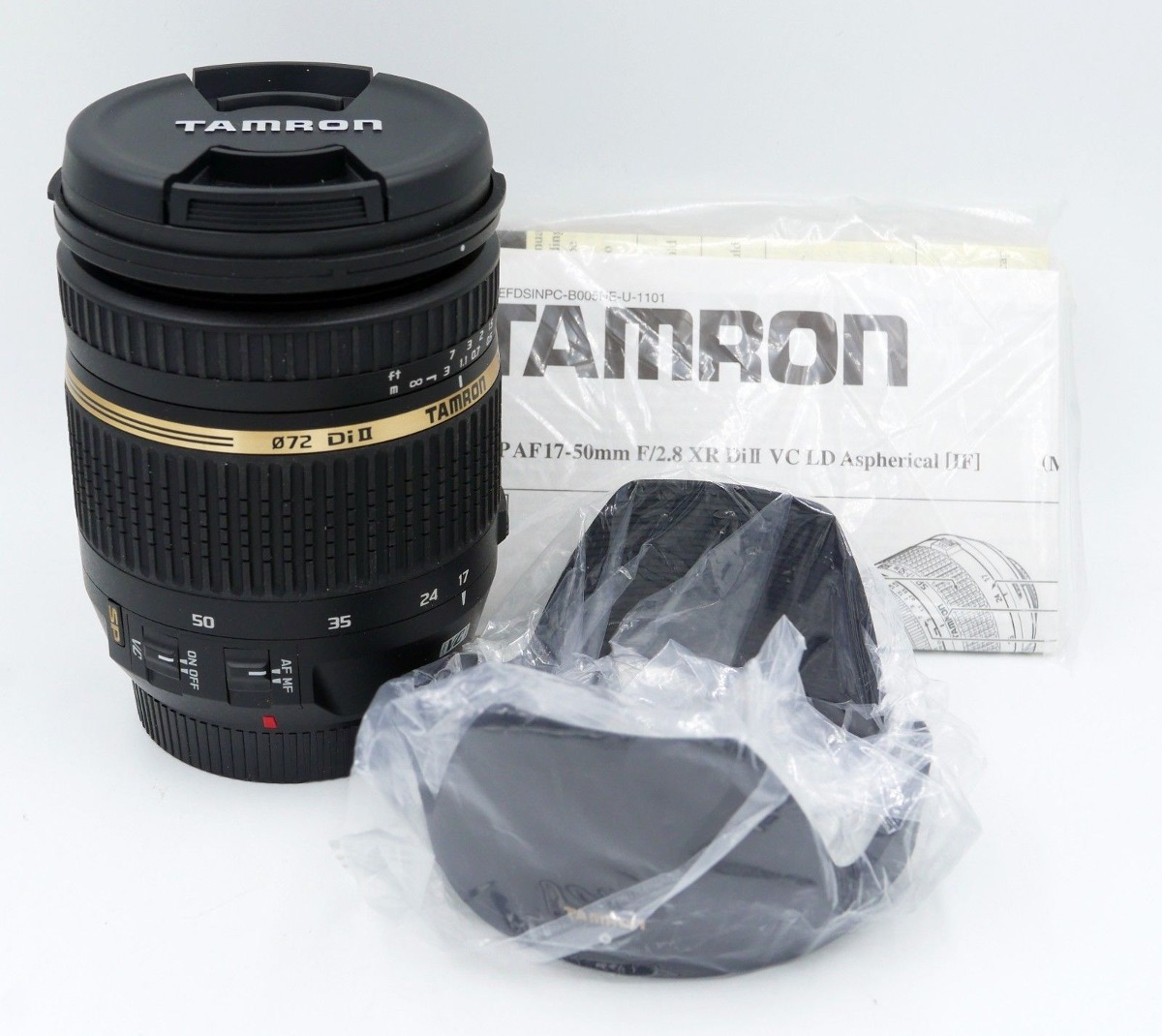 Tamron Sp B005 17 50mm F 28 Di Ii Xr Vc If Af Lente Par For Canon Ld Aspherical