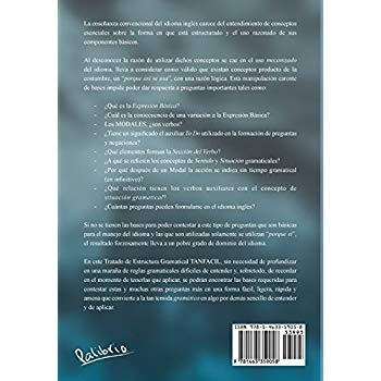 Tanfacil Estructura Gramatical Del Ingles Español Edición