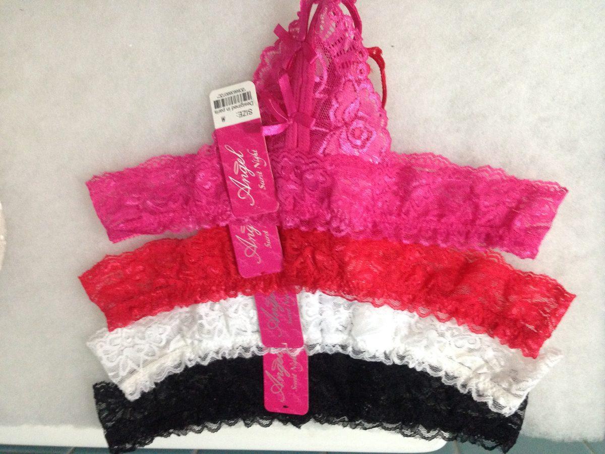 c9b5652d526520 Tanga Abierta Braga Encaje Color Rojo Atrevida - $ 75.00 en Mercado ...