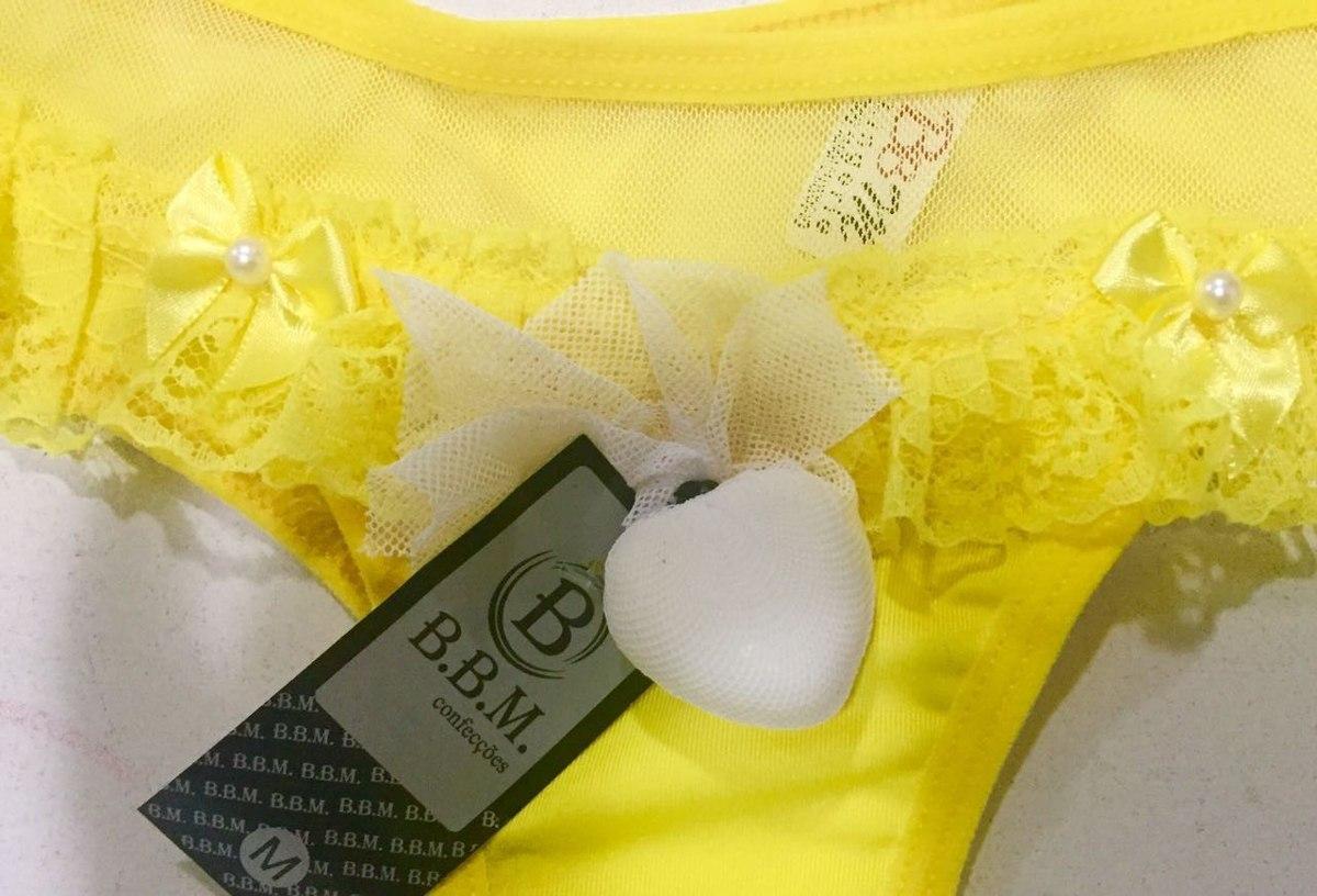 d67da8daa Tanga Calcinhas Luxo + Sabonete Perfumado Kit C 5 Sacoleira - R  39 ...