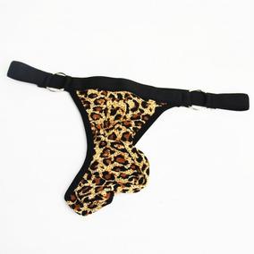 f6f0632eff0f Tanga De Hombre Leopardo Ropa Interior De Hombre Sexi