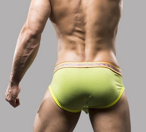 tanga para hombre con soporte frontal externo talla m