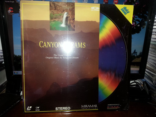 tangerine dream/canyon dreams-1987-made in usa-impecável