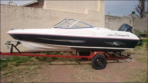 tango 470 open nueva motor mercury 40 hp cero hs a estrenar!