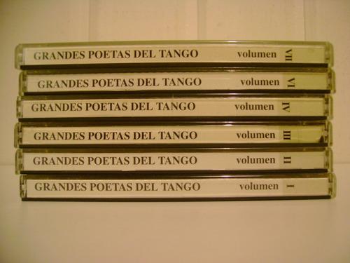 tango - cds 6 grandes poetas argentinos oportunidad unica!!!