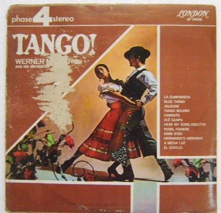 tango /  werner muller y su orquesta 1 disco lp vinil