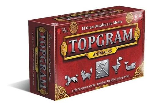 tangram animales juego chino desafios original topgram edu
