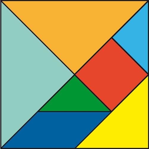 tangram mas pizarras imantadas
