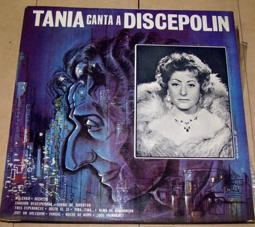 tania canta discepolin vinilo lp excelente estado
