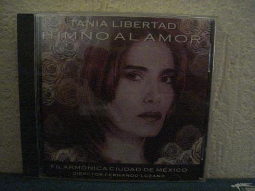 tania libertad cd himno al amor, filarmonica de mexico