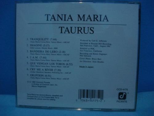 tania maria - taurus - cd importado