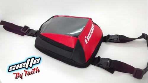 tank bag moto , porta celular , gratis cubierta para lluvia
