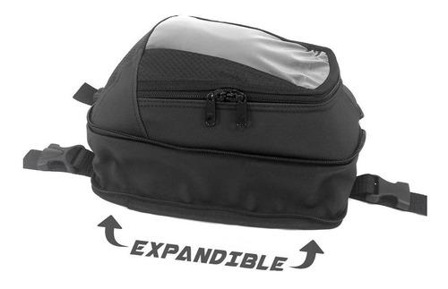 tank bag para moto, maleta expandible